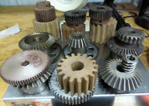 Industrial Machine Gears Miter Cogs Others Vintage Steampunk Art Mixed 25