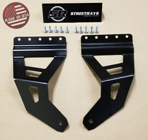 Sr 97 03 Ford F 150 F150 50 Straight Curved Roof Led Light Bar Mount Bracket