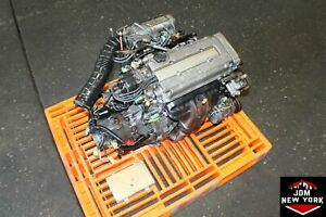 Jdm Honda Civic Cr X Sir 1 6l Obd0 Vtec Engine M T Trans Free Shipping B16a J1