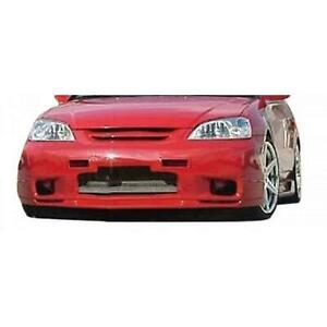 Kbd Body Kits Sl Spec 1 Pc Polyurethane Front Lip For Honda Civic 2001 2003