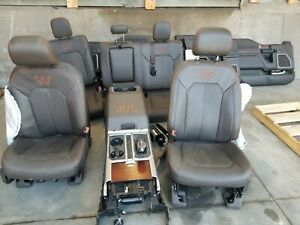 19g3179 15 16 17 Ford F150 King Ranch Complete Interior Seats And Console