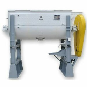 Ribbon Blender 95 Ft3 Capacity Jacketed Stainless Steel Construction