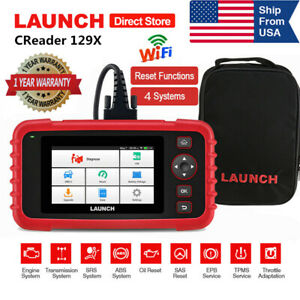 Launch Creader Crp129x Obd2 Scan Tool Diagnostic Scanner Auto Code Reader Viii
