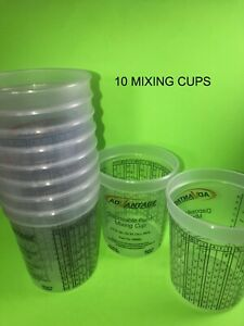 10 Paint Mixing Cups Quart Why Buy Devilbiss Ppg Or Ezmix 90080