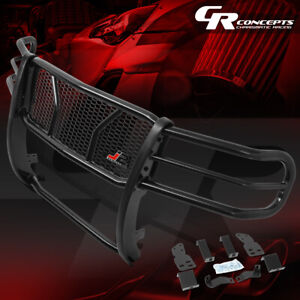 J2 Front Bumper Grille Protector Mesh Brush Guard Kit For 07 13 Gmc Sierra 1500