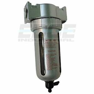 Aircompressor Accessories 1 2 quot Particulate Filter Water Trap Seperator