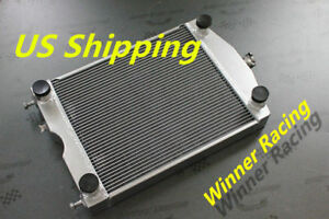 Aluminum Radiator For Ford 2n 8n 9n Tractor W flathead V8 Engine 2x1 up To 700hp