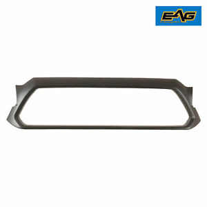 Eag Fit For 2012 2015 Toyota Tacoma Matte Black Grille Shell Abs Plastic