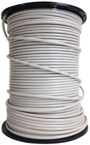 10 Gauge White Solid Copper Thhn Wire Southwire 500 Ft Cu Electrical Cable