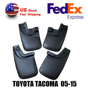 For 2005 2015 Toyota Tacoma Accessories Mud Flaps Splash Guards Lin