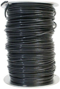 10 Gauge Black Solid Copper Thhn Wire 500 Ft Southwire Cu Electrical Cable