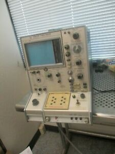 Tektronix Model 576 Curve Tracer Powered Only For Parts