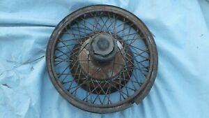 Marmon Wire Wheel Hub And Brake Drum
