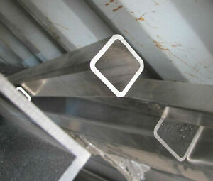 304 Stainless Steel Square Tube 3 X 3 X 250 X 92 Length