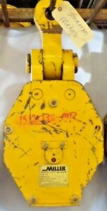 Miller High Lift Block 212l30 30 Ton double Sheave 3 4 Wire Rope lifting Eye 2