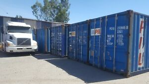 20 Cw Shipping Containers Cargo Worthy Storage Containers Sea Trains