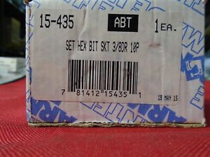 Armstrong P n 15 435 3 8 Drive 10 Pc Hex Bit Socket Set Made In Usa