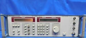Rohde And Schwarz Smy02 Signal Generator 9 Khz To 2 08 Ghz Non functional