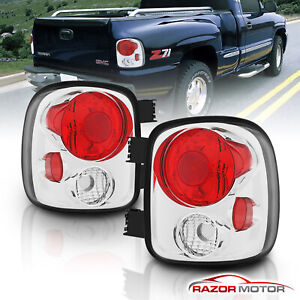 1999 2004 Chevy Silverado Gmc Sierra 1500 2500 3500 Stepside Rear Tail Lights