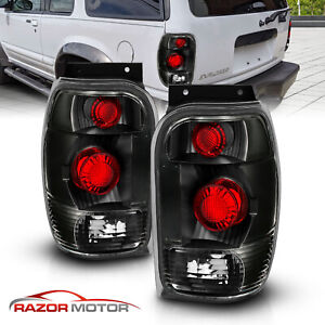 1998 2001 For Ford Explorer Mountaineer Altezza Style Black Brake Tail Lights