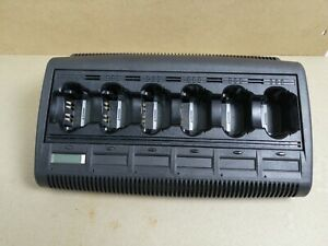 Motorola Impres Wpln4127ar 6 Unit Adaptive Charger Base Charging Station Ver 3 0