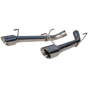 Mbrp Dual Axle Back Muffler Delete T304 Ford Mustang Gt 05 10 4 6l 3v S7202304