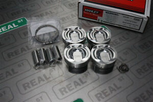 Manley Performance 87 5mm 9 3 1 Forged Pistons Focus St 2 0l Ecoboost 636000c 4