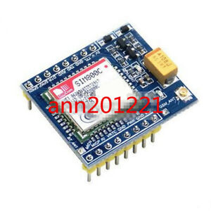 Sim800c Gsm Gprs Module 5v 3 3v Ttl Stm32 C51 With Bluetooth And Tts For Arduino
