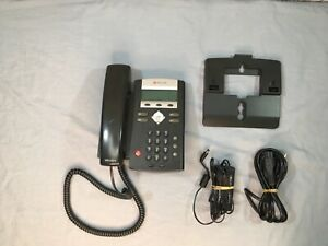 Polycom Soundpoint Ip335 Poe Voip Business Phone With A c Power Adapter
