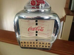 Coca Cola Brand Cookie Jars Silver Juke Box By Gibson Vintage 2000 Cookie Jar