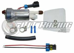 Walbro Ti F90000267 450lph E85 Racing Fuel Pump Kit For 1992 2000 Honda Civic