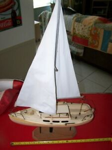 High Quality Handcrafted Model Sailboat One Of A Kind 2