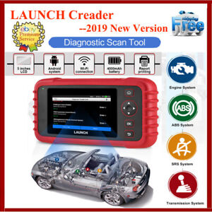 2019new Launch Crp129x Crp123x Obd2 Diagnostic Scanner 4 System Code Reader Tool
