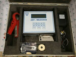 Used Triton Amv weldcheck With Accessories Charger And Bag