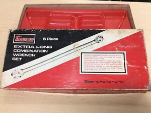 Snap On Tools Vintage Empty Cardboard Box With Wrench Tray Oexl Oexl 705