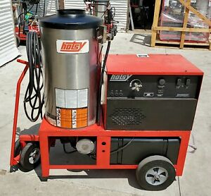 Used refurb Hotsy 980ss Gas Engine Hot Water Pressure Washer sn 100666