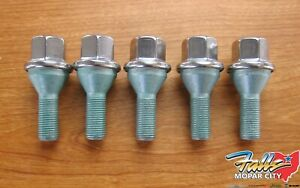 2012 2020 Chrysler Dodge Jeep Hex Head Bolts For Aluminum Wheels Set Of 5 Mopar