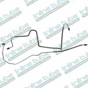 1984 1988 Camaro Firebird Rear Disc Brake Axle Lines Metric Fittings Stainless