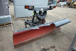 8 Western Truck Mounted Snow Plow With Ultra Mount System