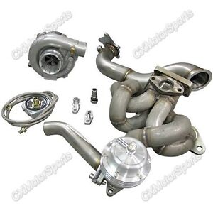 Top Mount Turbo Kit Wastegate For Toyota Corolla Ae86 4age Engine