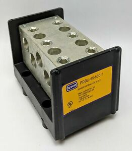 Ilsco Power Distribution Block Pdbu 55 500 1