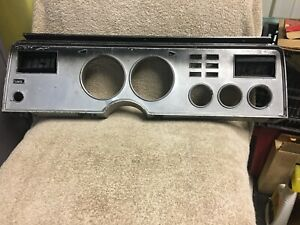 Used Ford D5zf 10b883 Ca 1974 1978 Mustang Ii Dash Bezel Panel With A C Vents