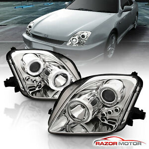 dual Halo for 1997 1998 1999 2000 2001 Honda Prelude Led Projector Headlights