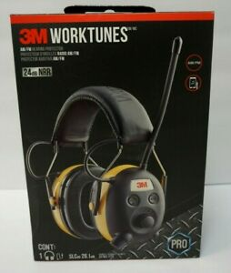 3m Worktunes Hearing Protector Wired yellow