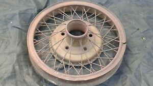 1928 1929 Ford Aa 1 Ton Truck Accessory Wire Wheel Original 20