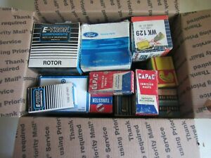 Vintage Lot Of Nos Car Truck Parts Ford Chevy Buick