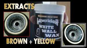 Lowrider White Wall Tire Wax 12oz