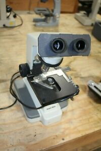 Sargent Welch National B2 220 Binocular Microscope With Objectives