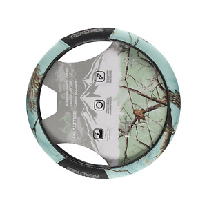 Realtree Camo Steering Wheel Cover Ap Cool Mint Truck Hunting Shooting Ap