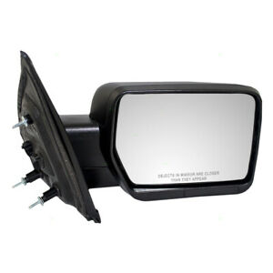 Power Door Mirror Fits 2009 2014 Ford F150 Pickup Truck Passenger Side Textured